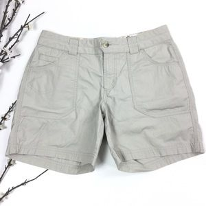 Columbia Beige Cargo Camping Hiking Trail Shorts